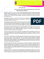 OPEN LETTER IM-Defensoras expresses extreme concern over the serious risk situation faced by LGBTTTIQ rights defenders in Honduras 10022016