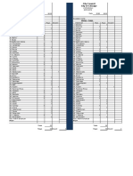 City Council 2-10-2016 Voting Sheet