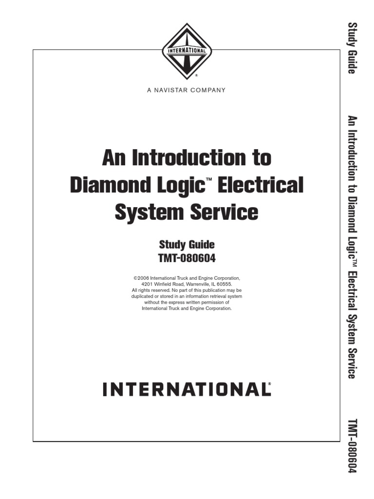 An Introduction To Diamond Logic Electrical System Service This Quick And Easy Technote Will Show You How Wire Foglights Into Trailer Vehicle Switch