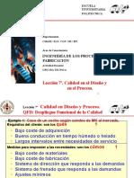 Ejemplos de QFD Despliegue Funcional de Calidad