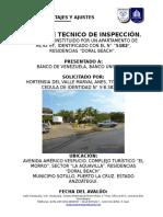 Avaluo Apartamento en el Doral Beach-Puerto La Cruz