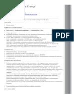 Curriculum Josoel Franca