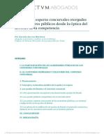 Las Quitas y Esperas Concursales Otorgadas Por Acreedores Públicos Desde La Óptica Del Derecho de La Competencia