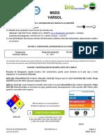 Ficha Seguridad Varsol