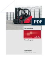Manual de Usuario Linde h25 392