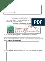 Avaliação  de Matemática 5º ano H.M.A DEZEMBRO 2015