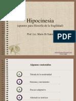 Hipocinesia