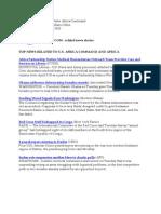 AFRICOM Related News Clips April 14, 2010