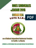 Elecciones Geacam 2016 Ciudad Real