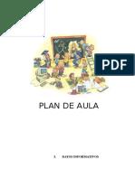 Plan de Aula de Ed. Primaria (Modelo)
