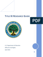 Dcl Title Ix Coordinators Guide 201504