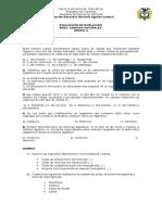 6° TALLER Y EVALUACIÓN DE NIVELACION CIENCIAS NATURALES