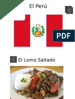 La Comida Peru PPT