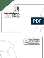 Mapa de Francisco Morazan