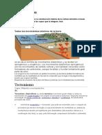 GEOLOGIA TECTONISMO