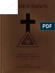 Proceedings of the GD Conference 1997 Ocr