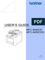 Brother MFC-9450CDN User Manual