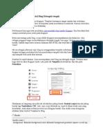 Cara Menempatkan Judul Blog Ditengah