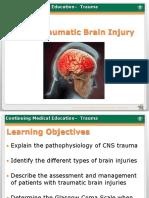 Traumatic Brain Injury Final 2013.5.29