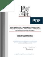 Planificación Estratégica Pública_Caso Problemas de Seguridad Comuna 10 de Medellín 2015