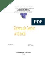 Trabj Sistema d Gestion Ambiental