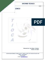 Informe Tecnico T-158a