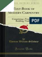 Text Book of Modern Carpentry