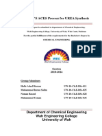 Production of Urea by ACES Process