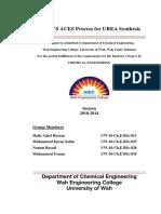 Production of Urea by ACES Process