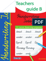 2345IR Handwriting Teachers Guide B