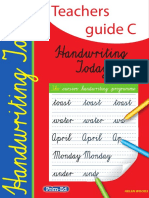 2346IR Handwriting Teachers Guide C