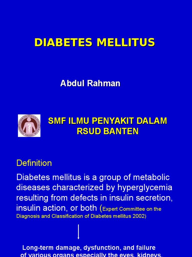 Resistensi insulina dan tratamiento de la diabetes