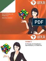 Unidad II - El Proceso de Enseñanza – Aprendizaje y La Didáctica
