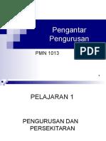 Pengantar Pungurusan PACE UUM
