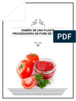 Primer Avance de Pure de Tomate