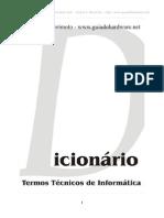Informática - Dicionário Termos Técnicos