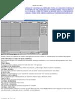 Informática - Espanhol - 3D Studio Max