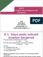 GAYA-GAYA MAGNET, BAHAN-BAHAN MAGNETIC DAN INDUKTANSI.pptx