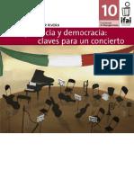 Transparencia y Democracia Claves Para Un Concierto