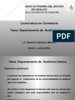 Departamento de Auditoria Interna
