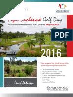 FDF Golf Day 2016 Parkwood International