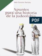 Apuntes Para UnaHistoria de La Judeofobía