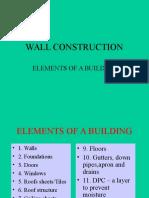 Walls Lect 1