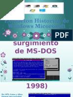 Evolucion Historica de Windows Micorosoft