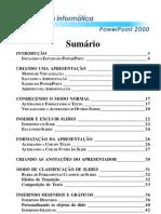 Informática - PowerPoint 2000