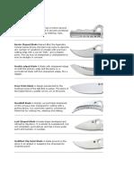 Knife Anatomy