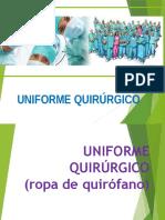 Uniforme quirurgico