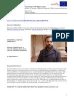 Lorenzo Fioramonti - Politiche UE e Governance Globale