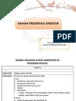 Bahan Presentasi Direktur RS