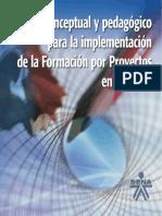 Modelo Formacion Por Proyectos en El Sena